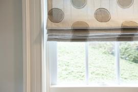 Mudroom window treatment